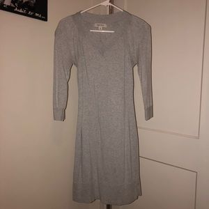 Comfy, cotton gray dress